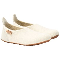 Bisgaard Basic Wool Home Shoe Cream 44 Creme
