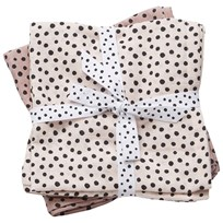 Done by Deer Swaddle 2-Pack Happy Dots Powder Powder