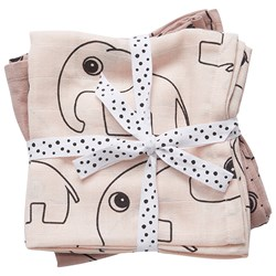 Done by Deer Burp Cloth 2 Pack Contour Powder