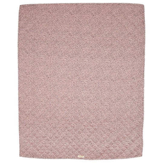 Soft Gallery Pebbles Blanket Silver Pink Silver Pink, AOP Pebbles
