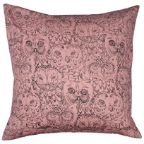 Soft Gallery Owl Big Pillow Case Coral Coral, AOP Owl