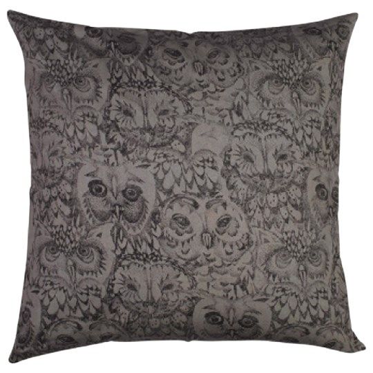 Soft Gallery Owl Big Pillow Case Drizzle Drizzle, AOP Owl