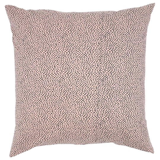 Soft Gallery Pebbles Big Pillow Case Silver Pink Silver Pink, AOP Pebbles