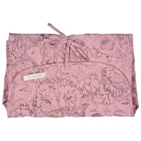 Soft Gallery Owl Changing Pad Coral Coral, AOP Owl