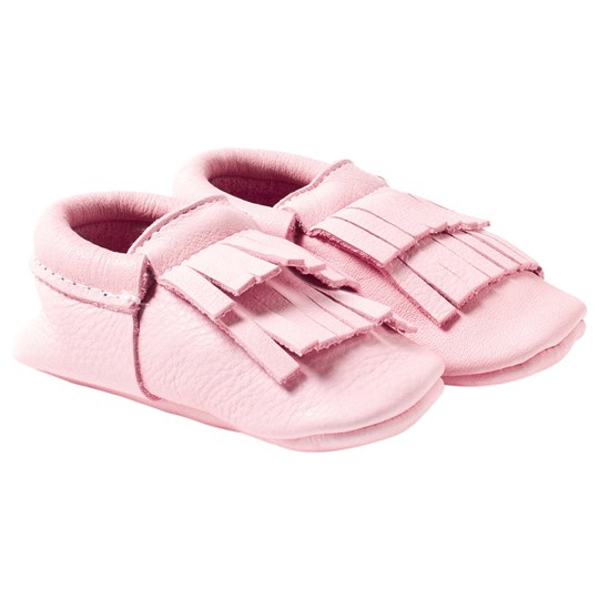 Mini Mocks Flamingo Moccasin Light Pink