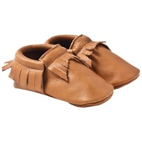 Mini Mocks Jagged Moccasin BROWN