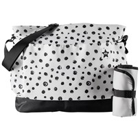 Kids Concept Neo Dot Changing Bag White/Black
