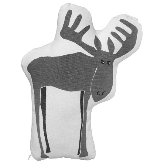 Kids Concept Cushion Edvin Moose White/Grey