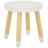 Flexa Furniture Play Stool White Hvid