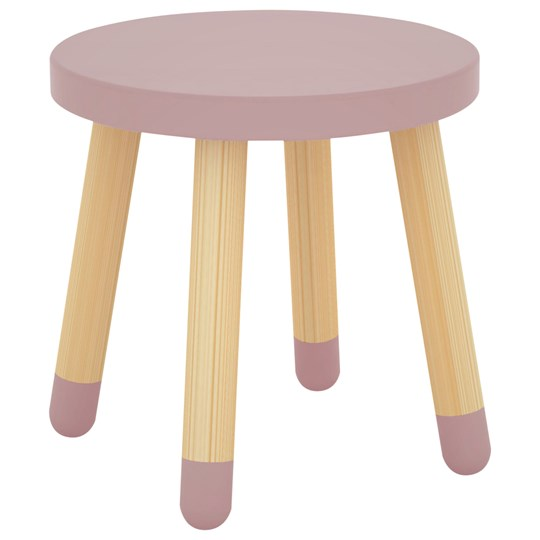 Flexa Furniture Play Stool Rose Pinkki