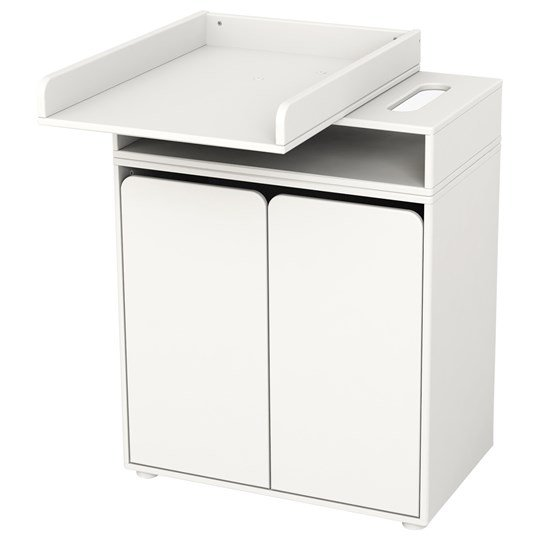 Flexa Furniture Changing Table with 2 Doors White Hvid