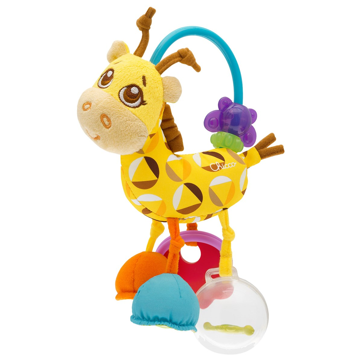 Chicco Mrs Giraffe Rattle Babby Essentials Set For Girl Free Teether