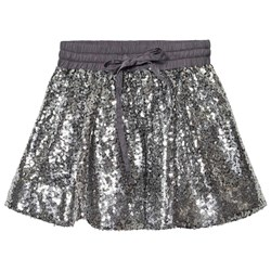 How To Kiss A Frog Sparkle Skirt Silver