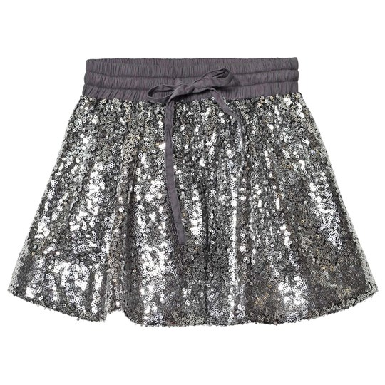 How To Kiss A Frog Sparkle Skirt Silver Silver