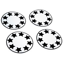 Pogu Wheel Reflective Star Black