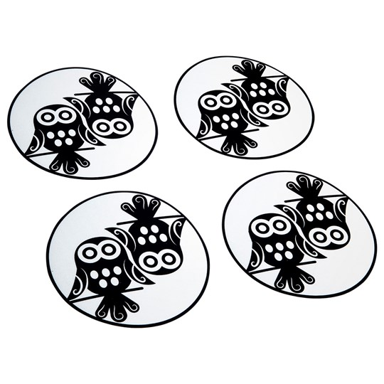 Pogu Wheel Reflective Owl Black