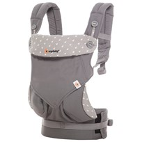 Ergobaby Four Position 360 Baby Carrier Grey Musta