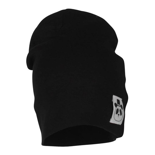 Mini Rodini Beanie Basic Black Black