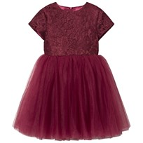 DOLLY by Le Petit Tom Minuet Dress Ruby Ruby