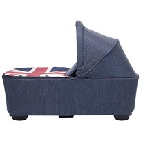 EasyWalker Mini Carrycot Union Jack Denim Jack Denim
