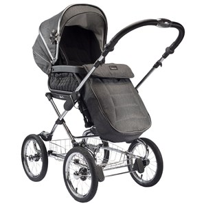 Image of Silver Cross Byg din Sleepover Duo vogn Hadria Black Carrycot/Seat Black (2995684445)