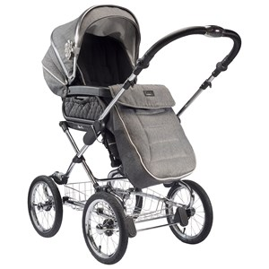 Image of Silver Cross Byg din Sleepover Duo vogn Cadet Grey Carrycot/Seat Grey (2995684439)