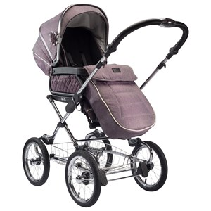 Image of Silver Cross Sleepover Duo Stroller Carrycot/Seat Mulberry Carrycot/Seat Mulberry (2757007623)