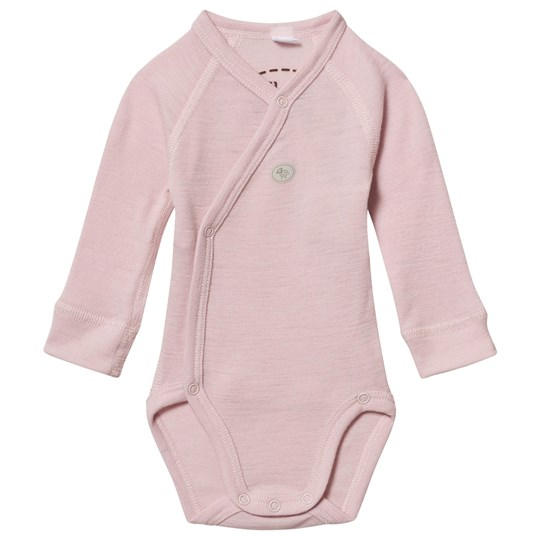 Lillelam Wool Wrap Baby Body Mini Pink Pink