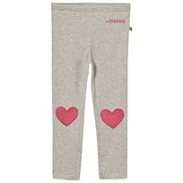 The BRAND Heart Leggings Grey Black