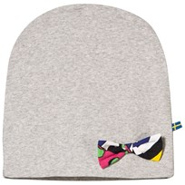 The BRAND Bow Hat Grey Melange Black