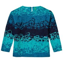 United Colors of Benetton Degradé Sweater Blue Multi blue multi