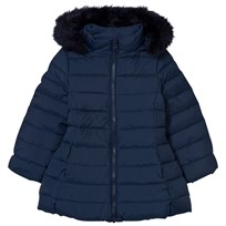 United Colors of Benetton Down Feather Jacket Navy Marinblå
