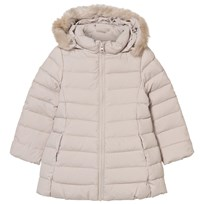 United Colors of Benetton Down Feather Jacket Off White Off white