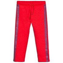 United Colors of Benetton Sweatpants Coral Röd Coral Red
