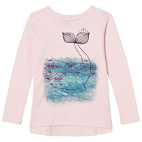 United Colors of Benetton Slub Knit Swing T-Shirt Pink Pink
