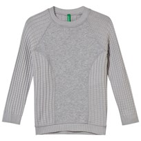 United Colors of Benetton Crewneck Tröja Grå Grey