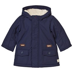 United Colors of Benetton Hooded Jacket Navy