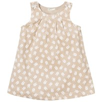 United Colors of Benetton Bunny Corduroy Dress Beige Beige