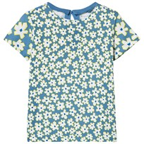 Stella McCartney Kids Blue Daisy Print Tee 4070