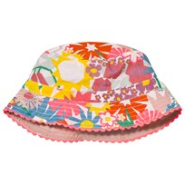 Stella McCartney Kids Dolores Hat Pink Flower Print 9799