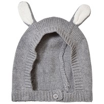 Stella McCartney Kids Stickad Bunny Mössa Grå 1461