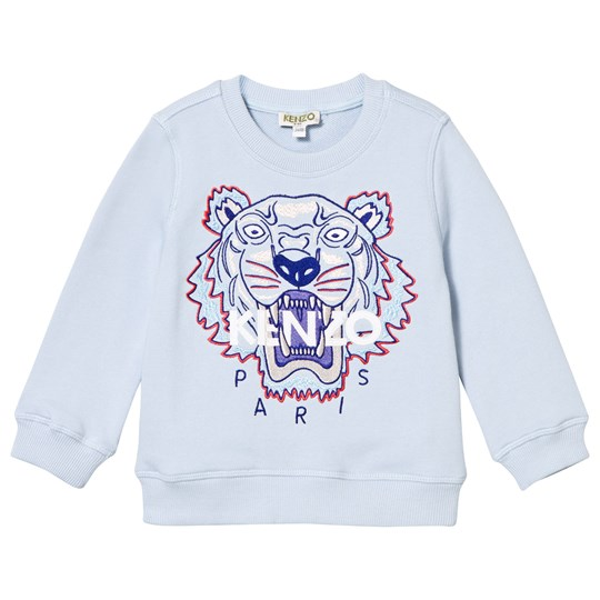 Kenzo Blue Tiger Embroidered Sweatshirt 40