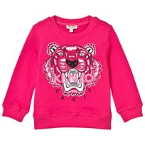 Kenzo Pink Embroidered Tiger Sweatshirt 35