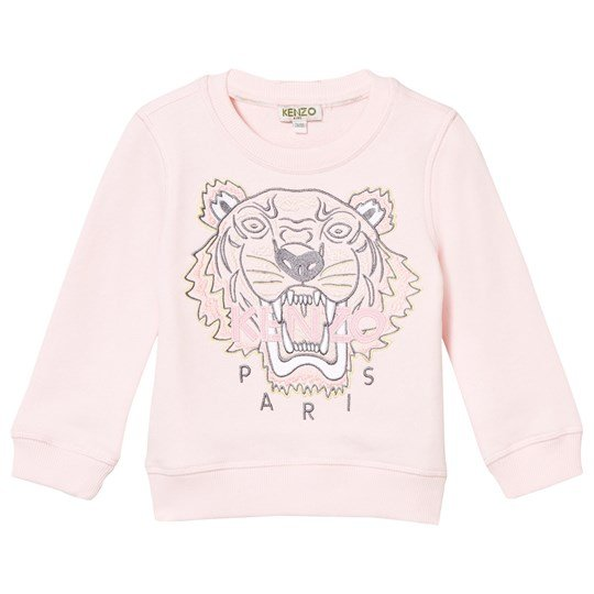 Kenzo Embroidered Tiger Sweatshirt Pink 32
