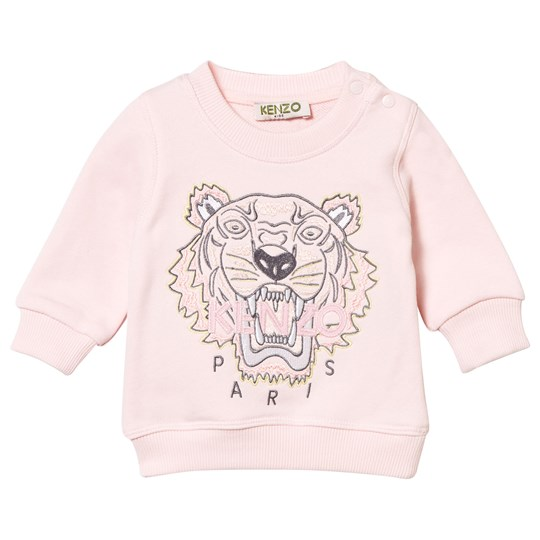 Kenzo Pink Embroidered Tiger Sweatshirt 32