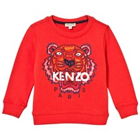 Kenzo Embroidered Tiger Sweatshirt Orange 36