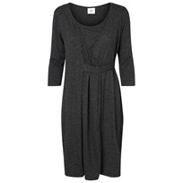 Mamalicious Jersey Nursing Dress Dark Grey Melange Dark Grey melange