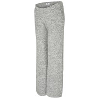 Mamalicious Knit Lounge Pants Light Grey Melange Light Grey Melange