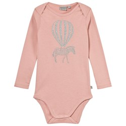 Wheat Baby Body with Print Mellow Rose