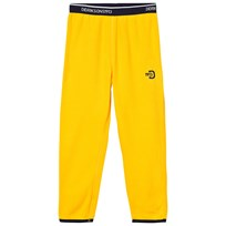 Didriksons Monte Kid's Microfleece Pants Yellow Yellow